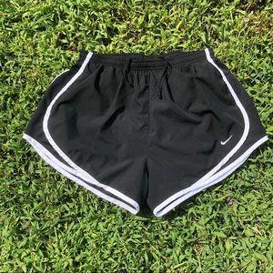 (Women's M) Black Nike Pro Dri-Fit shorts